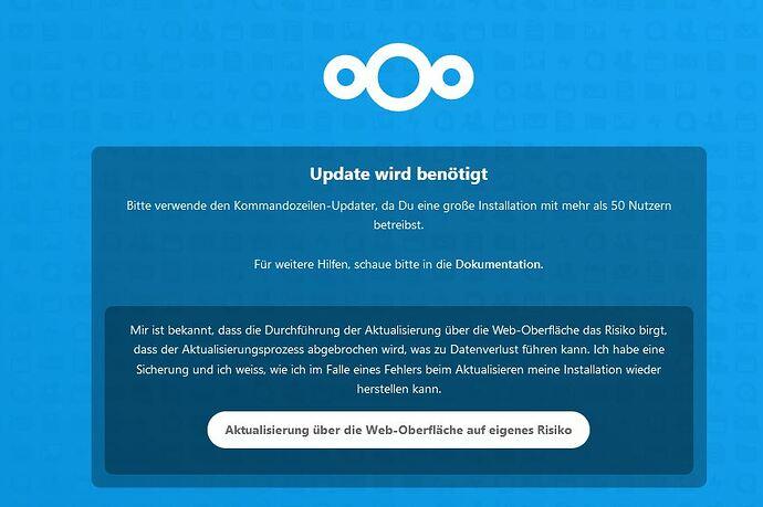 Nextcloud-Update