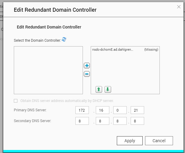 Cannot join QNAP to Domain - Support - NethServer Community