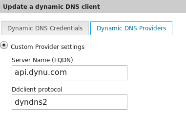 A list of FREE dynamic dns provider - Chat - NethServer