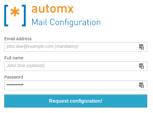 How to automatically configure email (Thunderbird, Outlook