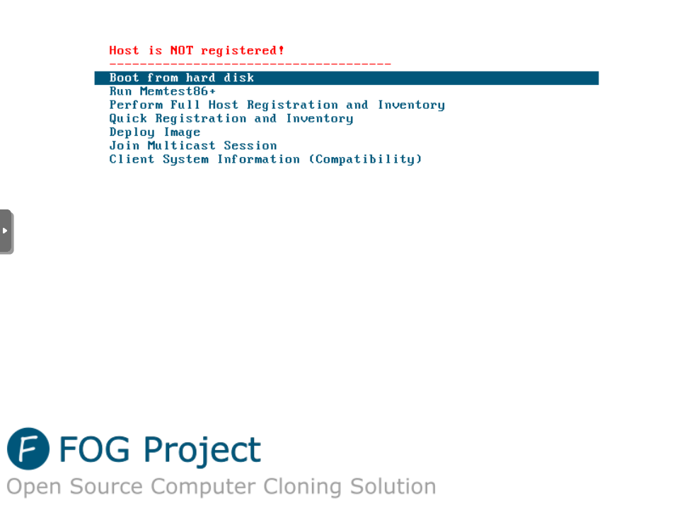 HowTo install FOG-Project CloneServer on NethServer - Howto