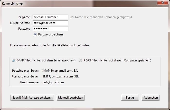 Gmail + thunderbird SOLVED - Support - NethServer Community