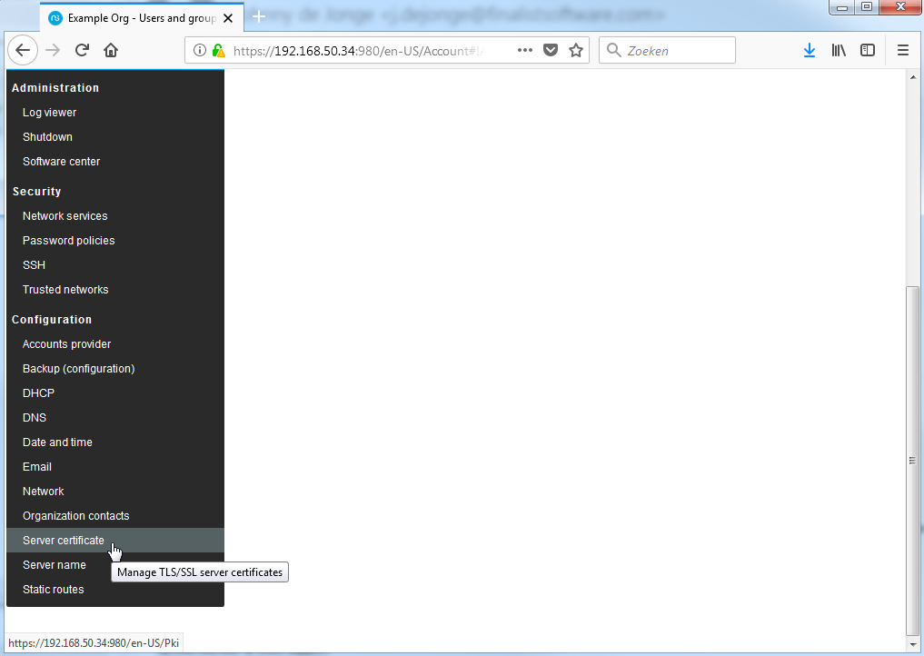 Howto install NethServer as Samba AD domain controller v0 2
