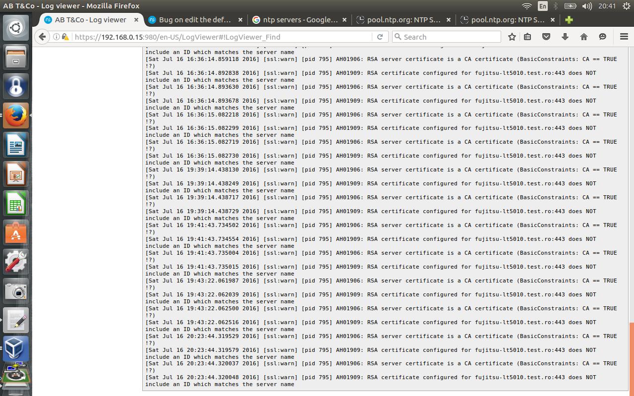 Bug on edit the default self signed certificate testing varloghttpdsslerrorlogg1279x799 265 kb xflitez Image collections