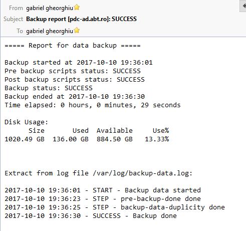 Backup (data): [ERROR] missing backup-config  md5 file - Bug