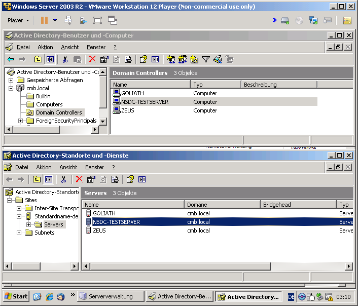 Add/Replace existing AD Domain Controller with ns7 - Feature