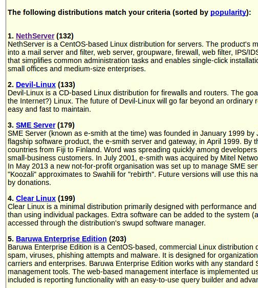 NethServer featured in DistroWatch com! - Testimonials - NethServer
