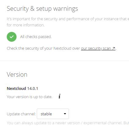 Nextcloud 16 Freebsd