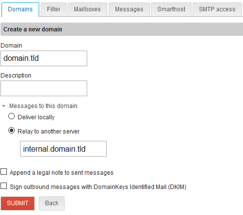 Setting up a relay mail server - Support - NethServer Community