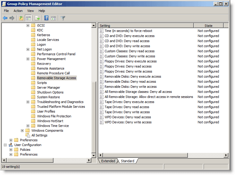 Disable-USB-drive-Group-Policy-Removable-Storage-Access