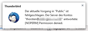Error on Sogo when accessing parent of shared mailboxes - Bug