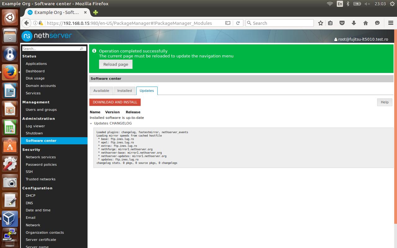 Try out Nethserver 7 beta1 - Testing - NethServer Community