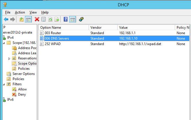 WPAD, DHCP, DNS, etc - Bug - NethServer Community