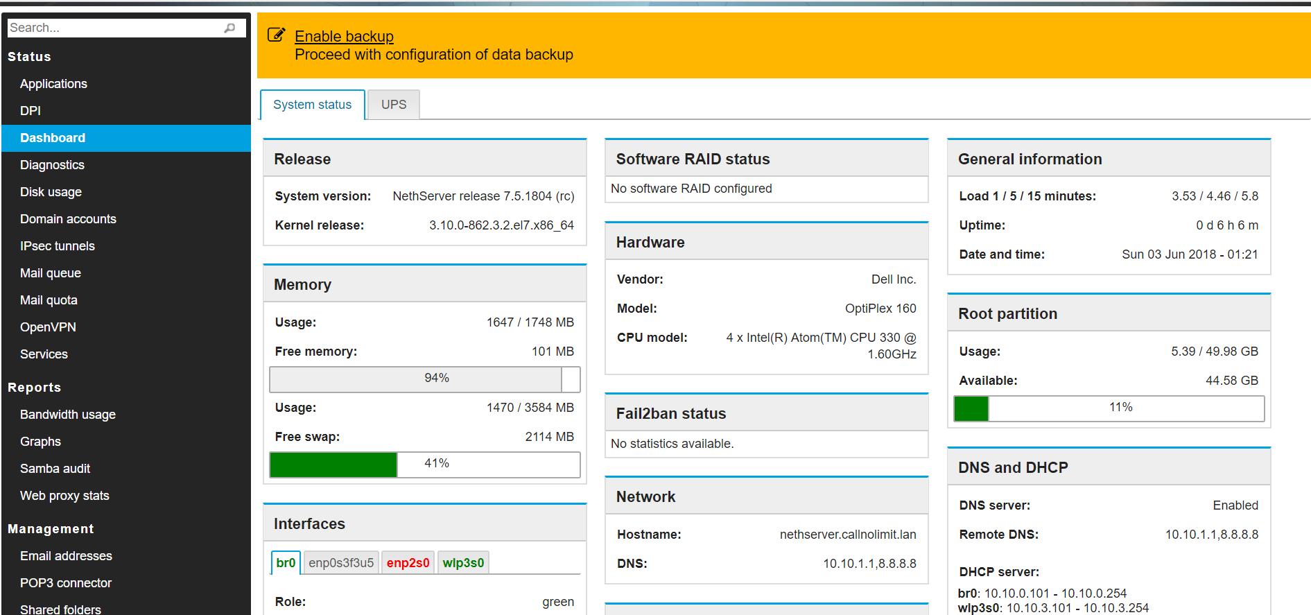FreePBX 14 proxy error - Bug - NethServer Community