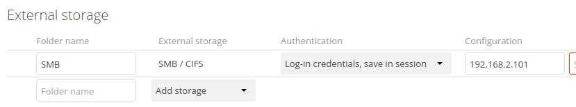 Link nextcloud to samba users home folders - Feature