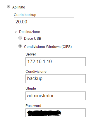 Backup on Windows mount - Support - NethServer Community