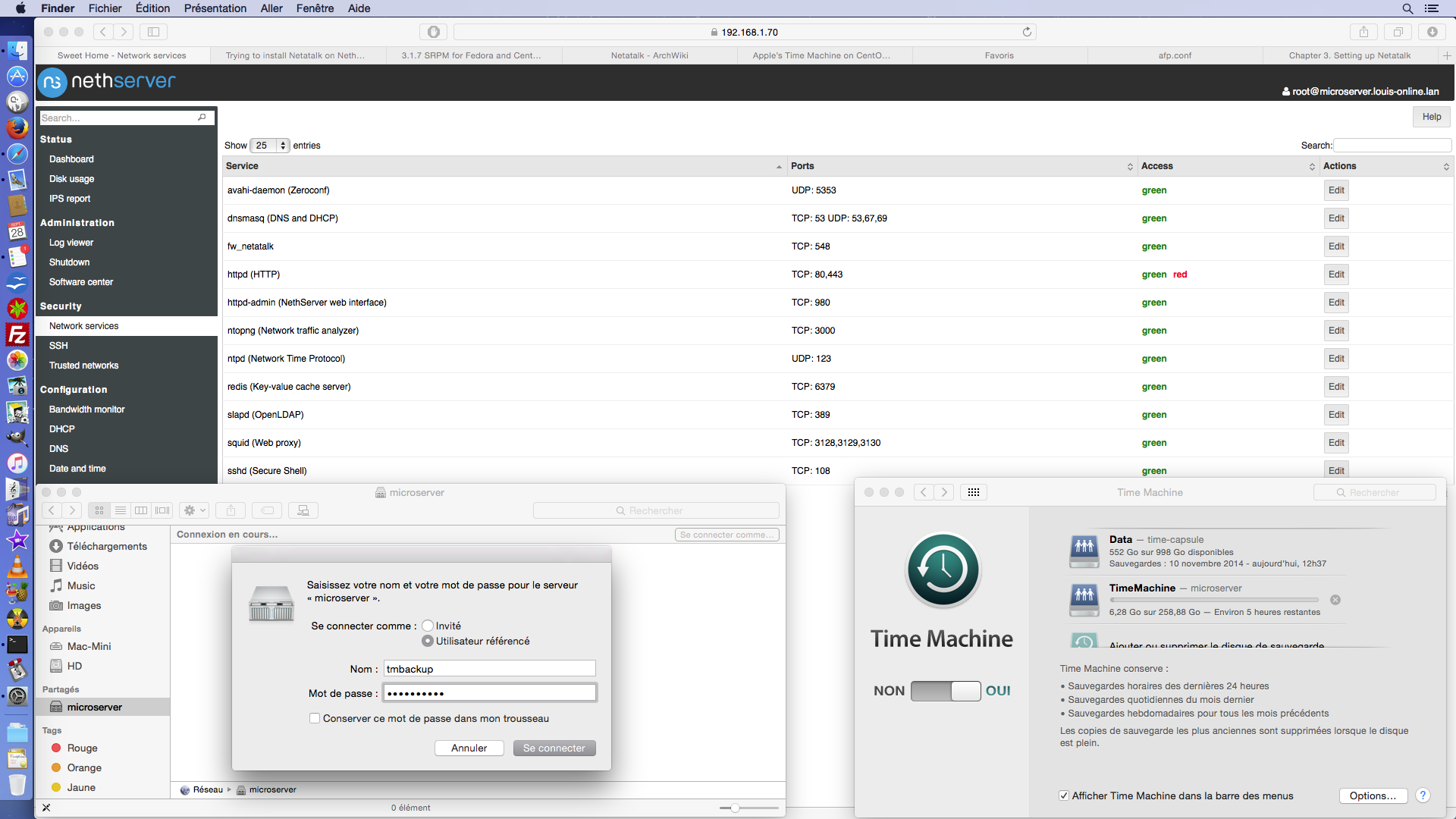 Trying to install Netatalk on NethServer - Development - NethServer